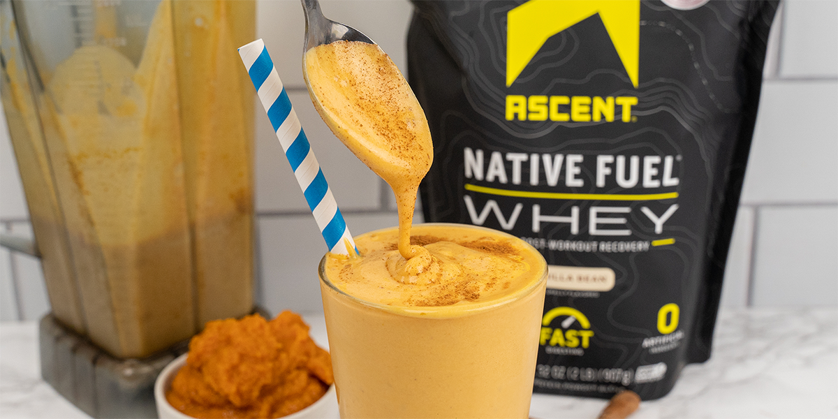 Love Pumpkin Everything? Try this Ascent Pumpkin Protein Shake Recipe