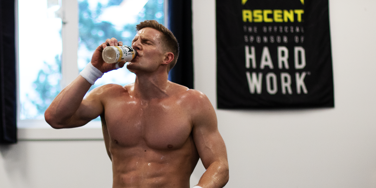 Brent Fikowski Works Hard & Recovers Light With Ascent Recovery Water