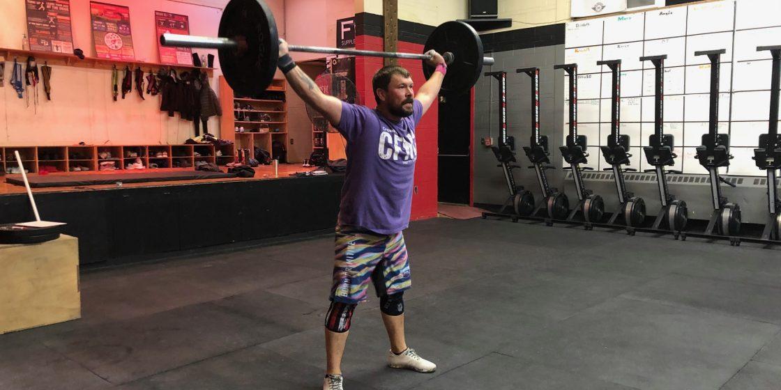 Garett Hood: Flat Lines Five Times, Credits CrossFit With Bringing Him Back