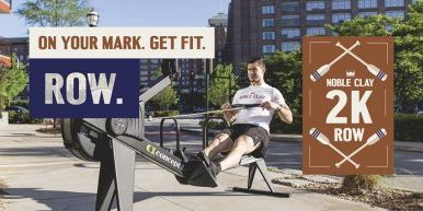 Noble Clay Fitness Brings Annual 2k Row To A National Level