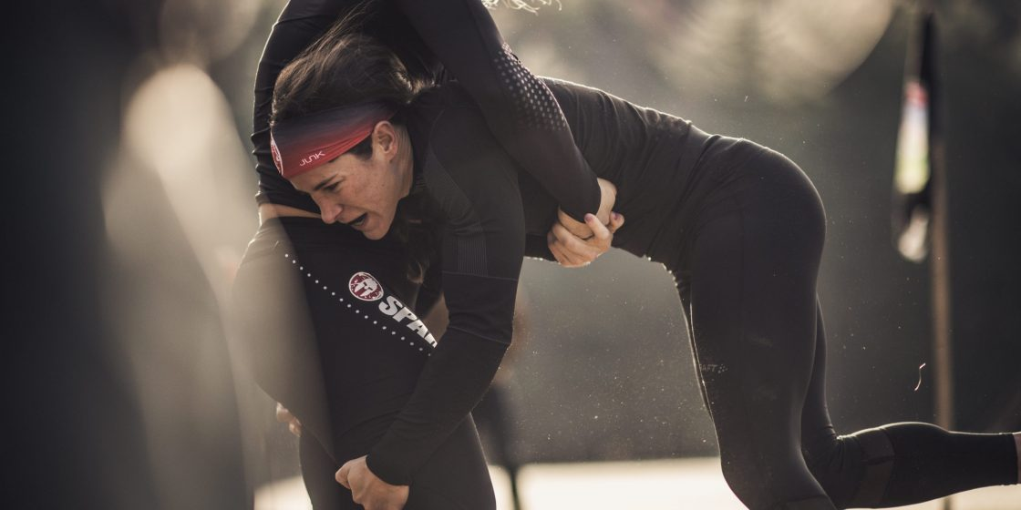 CrossFitters Scramble for Spots on the Leaderboard on Episode 3 of the Spartan Games