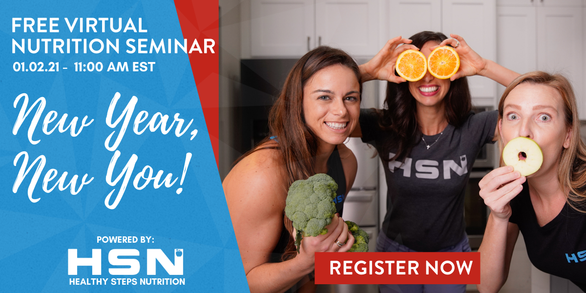 Register Now For a Free Seminar With the Nutrition Experts at Healthy Steps Nutrition