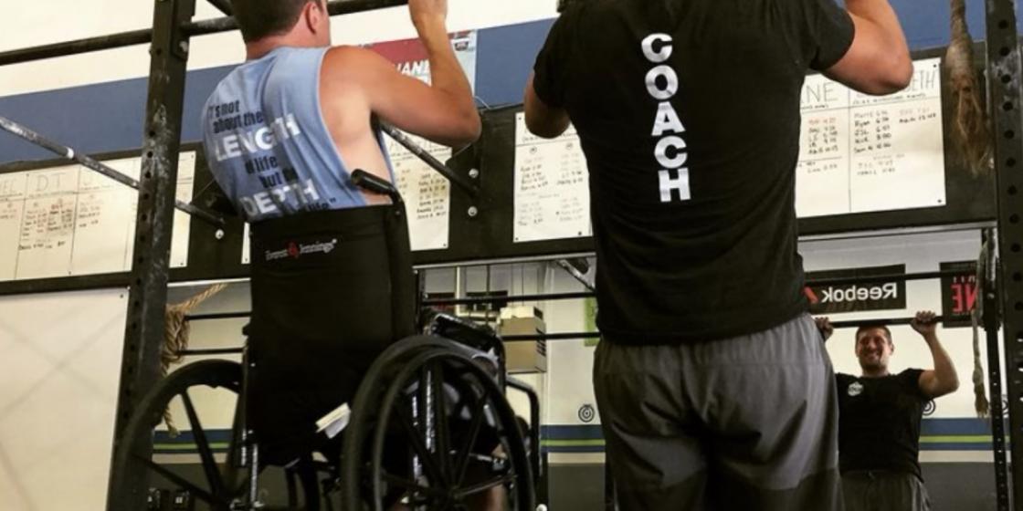 CrossFit Helps Adaptive Athlete Battle Rare, Incurable Genetic Disease