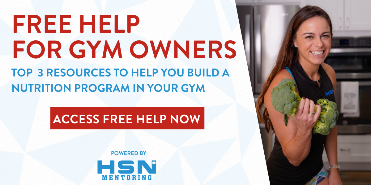Building a Nutrition Program? Save Time and Don't Reinvent the Wheel