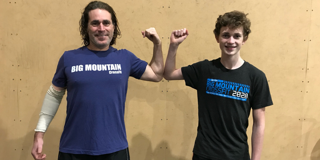 You Can't Outwork a Bad Diet: Long-Time CrossFitter Josh Mintz Fixes Nutrition, Recruits Son and Loses 40 Pounds