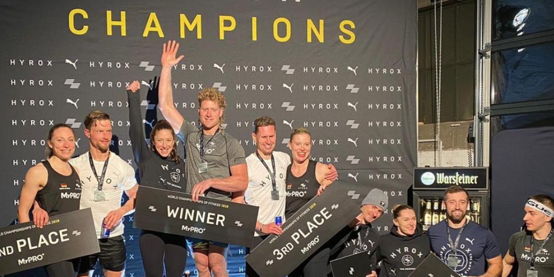 McIntyre, Weeks Win HYROX World Championships of Fitness