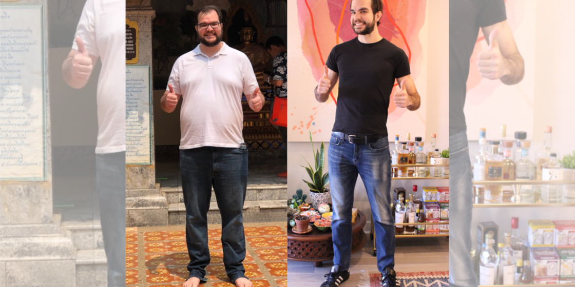 """""""Incremental Changes,"""" Supportive Community Helps Bryan Hricay Lose 100 Pounds"""