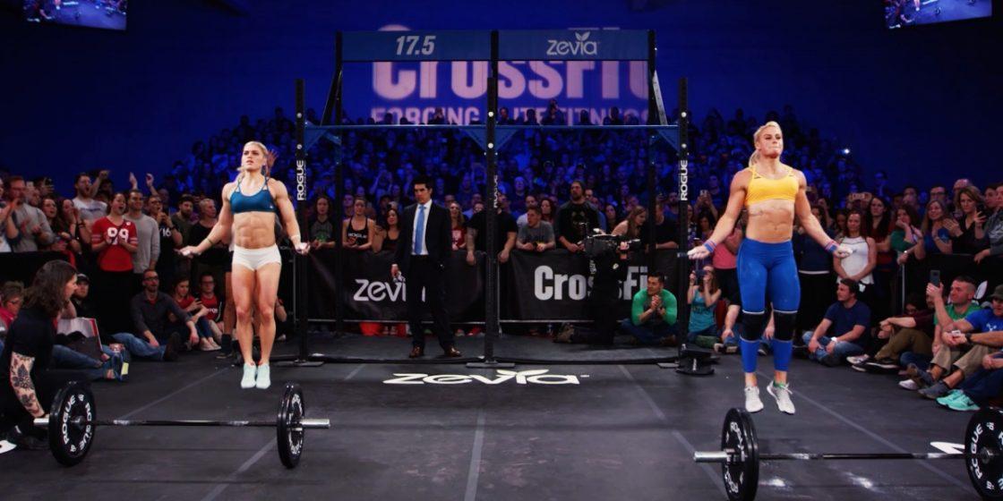 CrossFit Open Announcement Top Five Moments -- Sara Sigmundsdottir and Katrin Davidsdottir Battle in 17.5