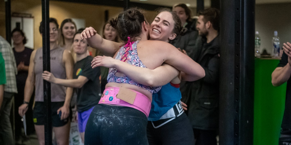 A Global Pandemic and Breast Cancer: Katie Michaud Turns to CrossFit for Comfort