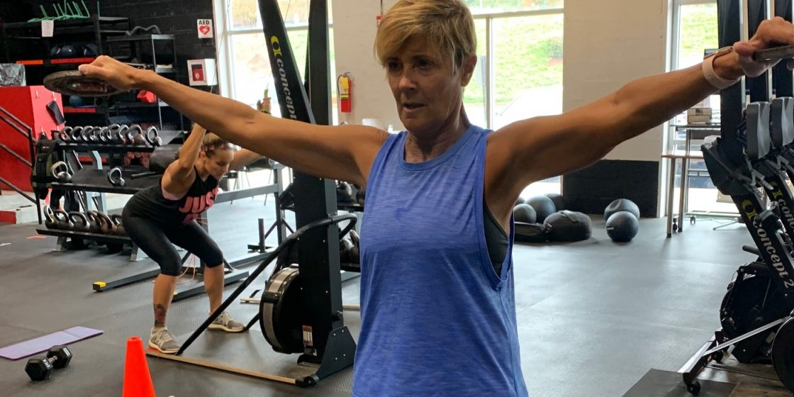 Told She'd Never Workout Again, Cancer Survivor Laurie Page Begins Her Ninth Year of CrossFit