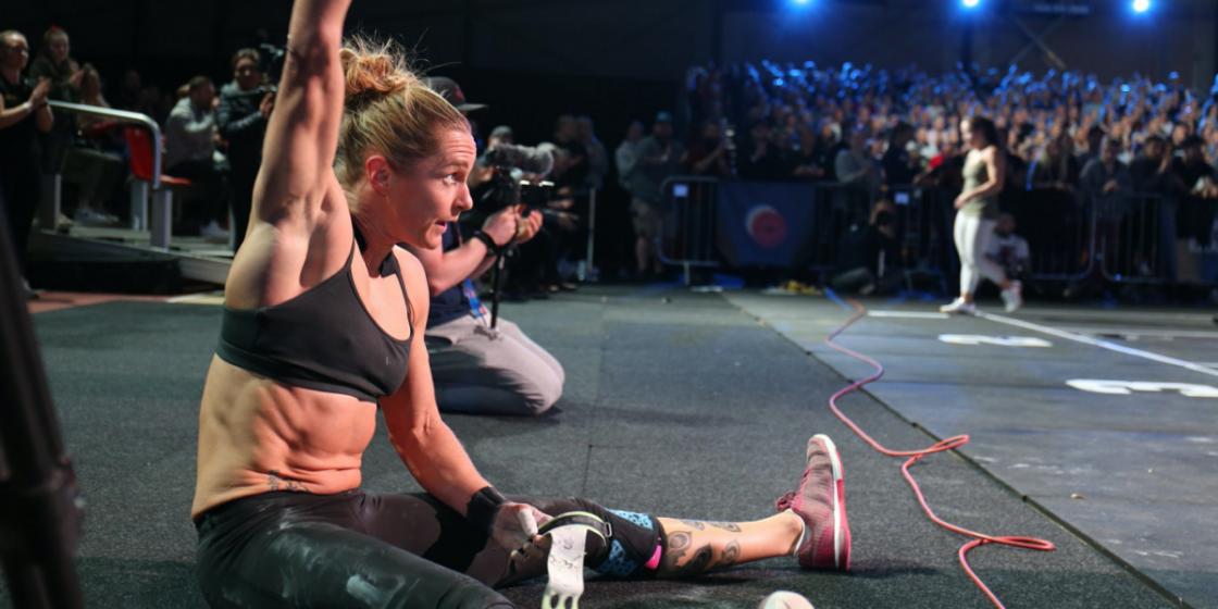"""Sam Briggs Chasing CrossFit's Official """"Fittest 40 Year-Old in History"""" Title"""