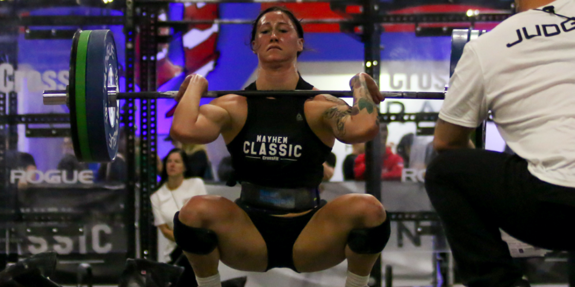 How Did 2020 Games Athletes Fare on the Four Rep Max Front Squat Test in Quarterfinals?