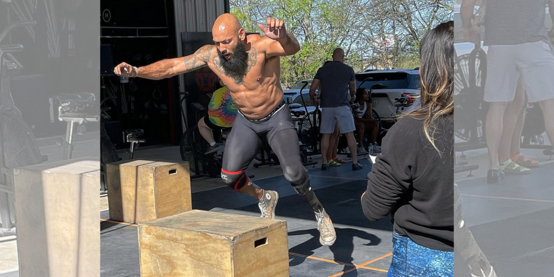 """Finding His Purpose: """"I Never Would Have Done This CrossFit Shit Otherwise,"""" Says Military Veteran, Below-the-Knee Amputee"""