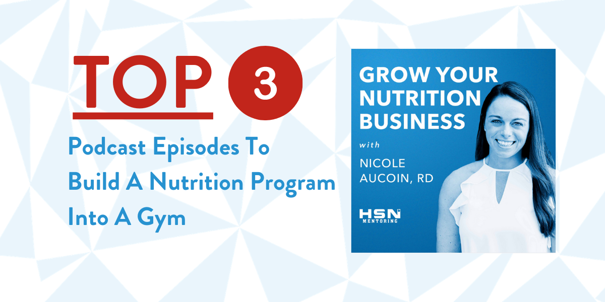 Save Time and Don't Reinvent the Wheel When Building a Nutrition Program