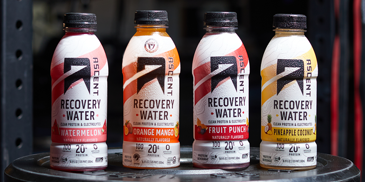 Try Two Bottles of Orange Mango Recovery Water for Just $5