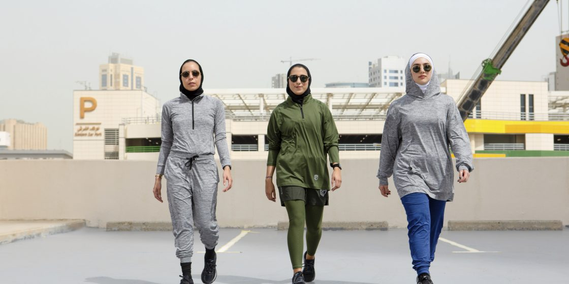 """Born Primitive Launches the """"Modest Edit,"""" a Collection for Covered Athletes in the Middle East"""