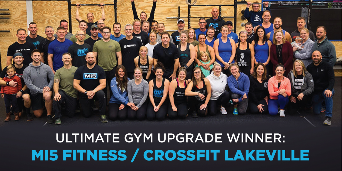 Team O2 Announces Winner of their Gym Appreciation Week's Ultimate Gym Upgrade