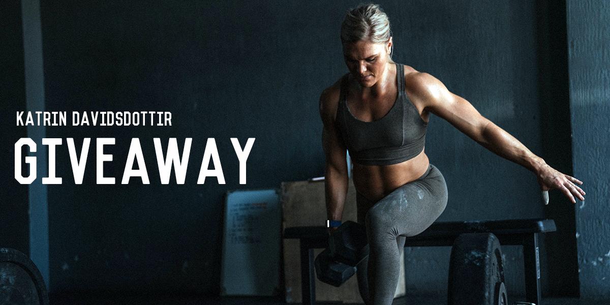 Enter to Win Ascent Swag Signed by Katrin Davidsdottir