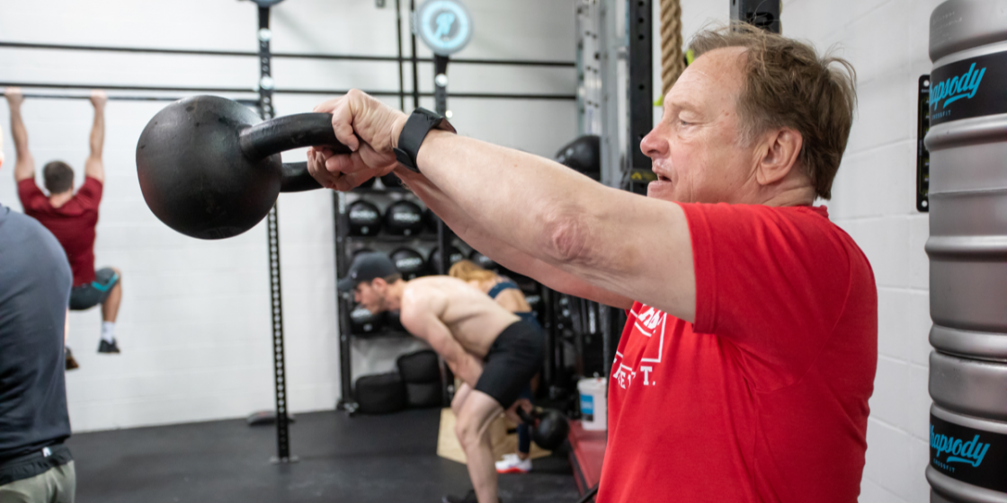 """""""Never Give Up"""": How CrossFit Helped Stroke Survivor, Jeffrey Fisher, Defy the Odds and Make an Extraordinary Recovery"""