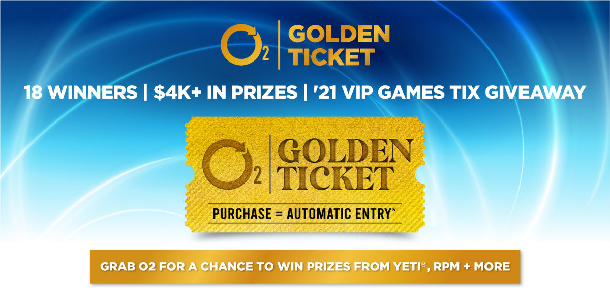 Win a Golden Ticket Prize from O2