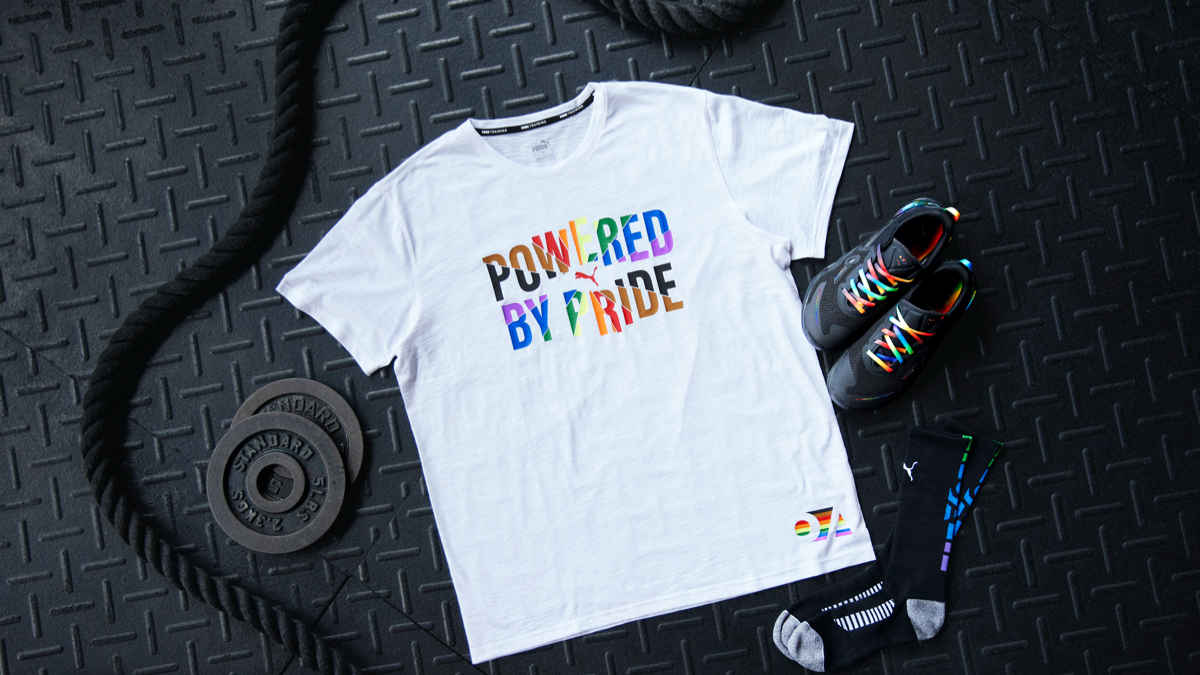 PUMA Teams Up with The OUT Foundation to Create Pride Collection ...