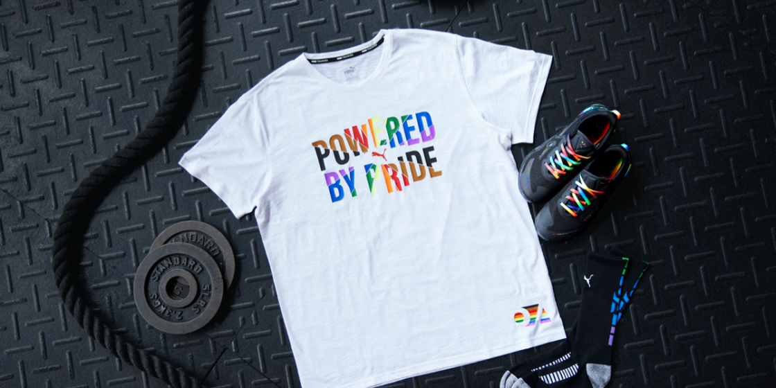 PUMA Teams Up with The OUT Foundation to Create Pride Collection