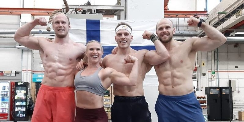 Top Trio of Finnish CrossFit Athletes Shine During Semifinals to Reach Madison