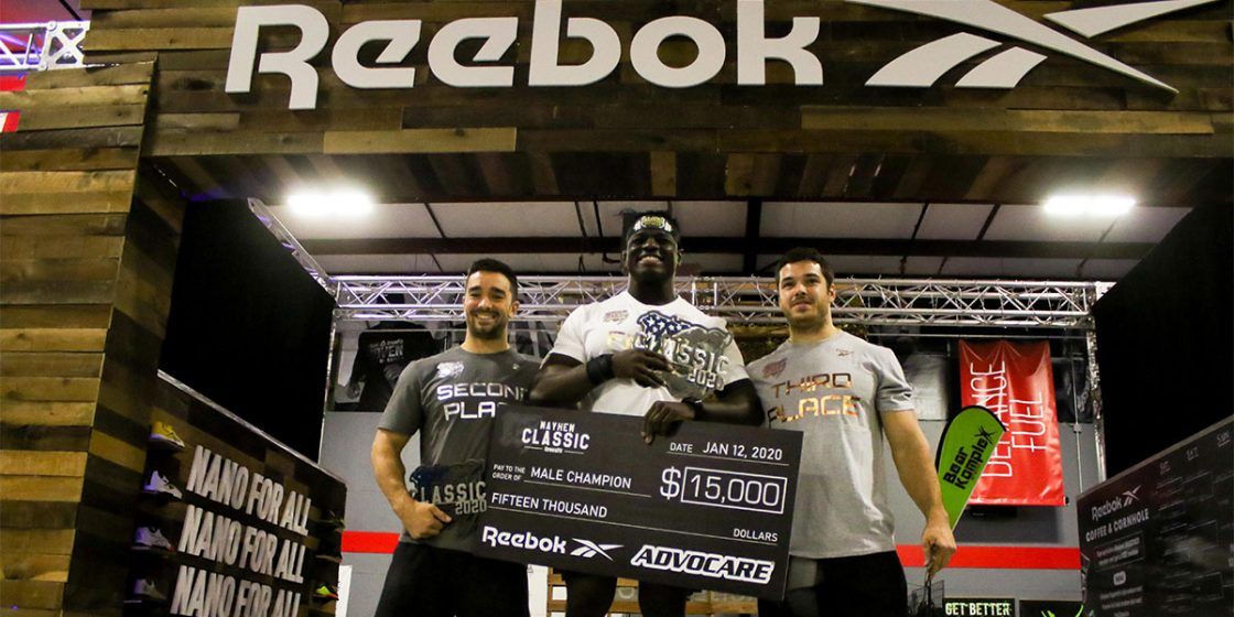 Exclusive: Reebok Offering Nearly $1 Million in Bonus Prize Purses to Games Competitors