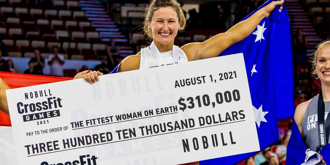 Top Ten Athlete Payouts for the 2021 NOBULL CrossFit Games Season