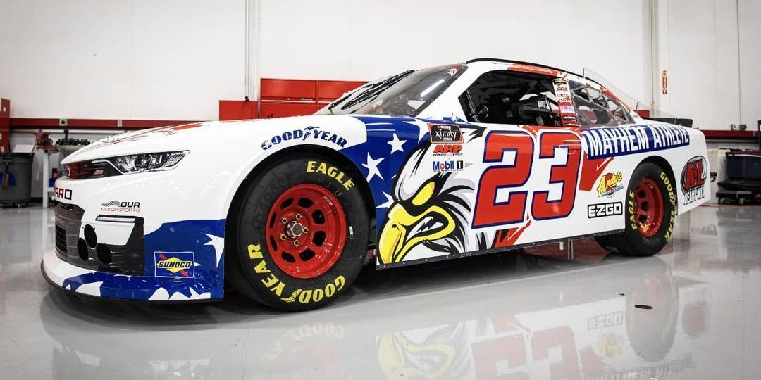 Mayhem Athlete Makes Leap to NASCAR, Joins Austin Dillon on Two-Race Deal