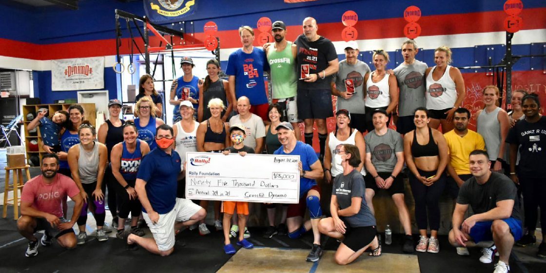 Georgia Affiliate Does 24 Workouts in 24 Hours, Raises $100K for Childhood Cancer Research